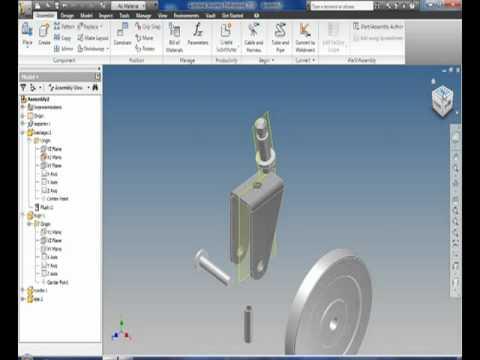 Como Crear Un Tornillo En Autodesk Inventor Doovi
