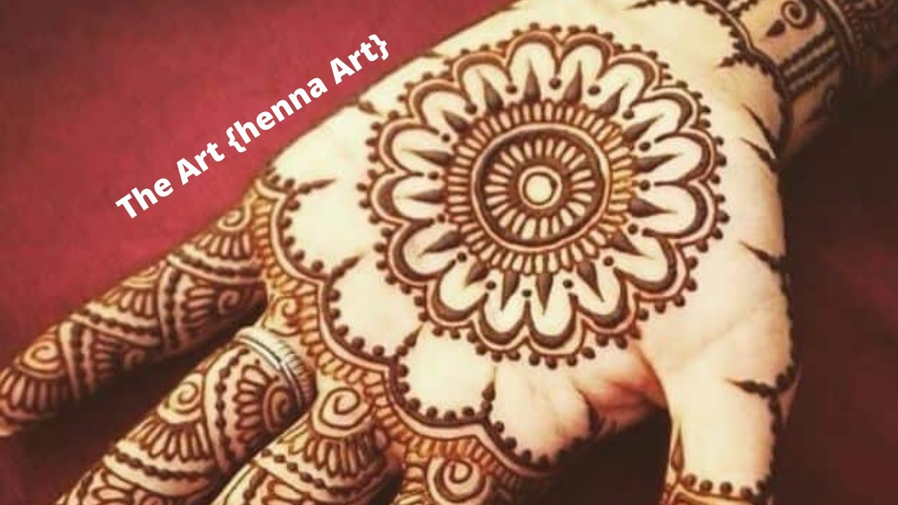 Easy Eid mehndi designs for front hands | Easy beautiful mehndi  | Simple Sana  | designs 2020