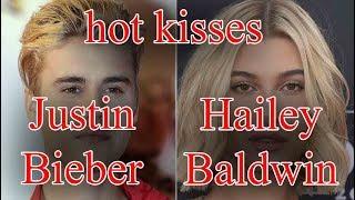 justin bieber - justin bieber hailey Baldwin - hot kisses - justin bieber engagement