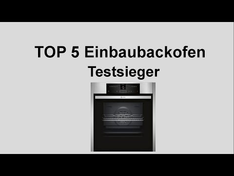 ᐅ Top 5 Einbaubackofen Testsieger - Backofen Test Vergleich