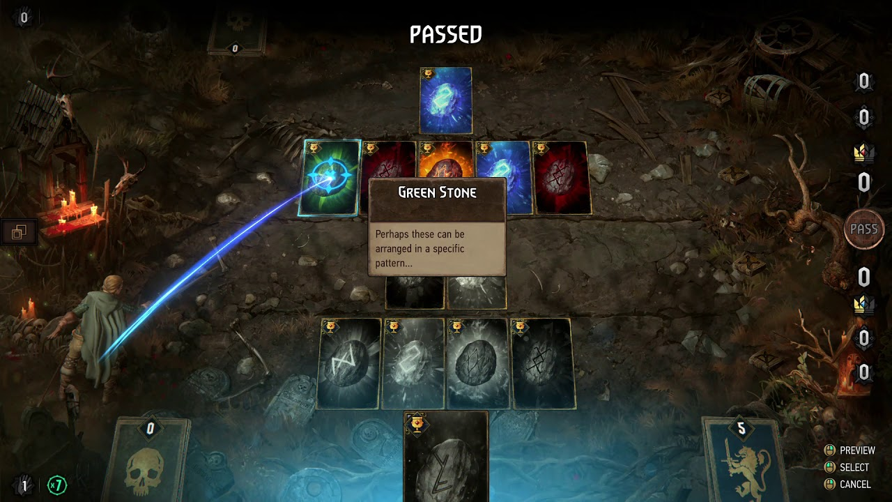 Thronebreaker DEPTHS OF MIRIA MIRROR STONES PUZZLE