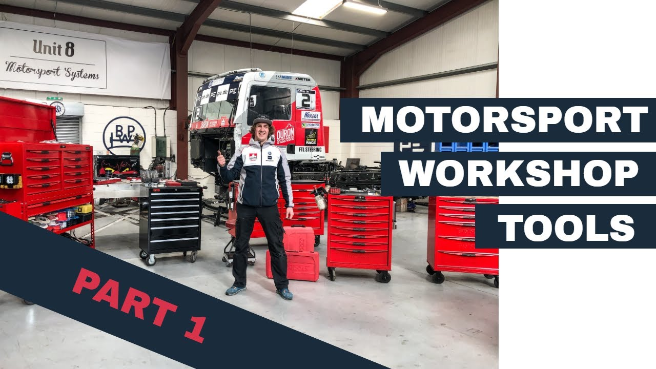 Motorsport Tool Box Tour - Teng Tools Toolkit used by Truck Race Team Part 1