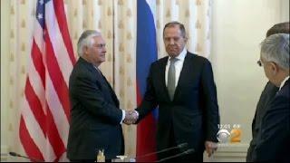 Tillerson In Russia