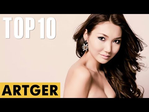 TOP 10 Most Beautiful Mongolian Women