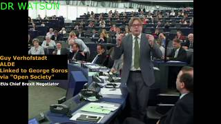 VERHOFSTADT & CO GET DEMOLISHED BY FARAGE, NUTTALL, DARTMOUTH, SINN FEIN, DUP RE: JUNKERS ELECTION