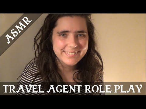 ASMR Travel Agent Role Play (Great Southern Rail - The Ghan)