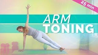 Arm Toning Yoga Exercise (25-min)