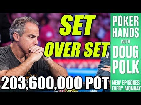Poker Hands - Can Cliff Josephy FOLD A Set? (2016 WSOP Main Event Final Table)