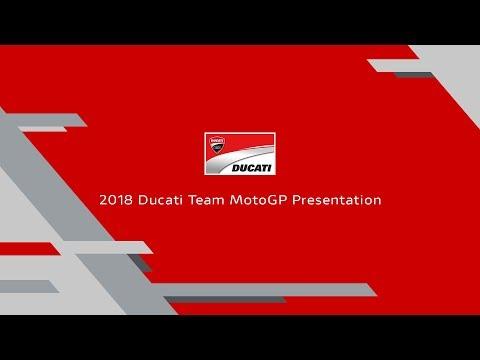 Ducati MotoGP 2018 Presentation (ENG)