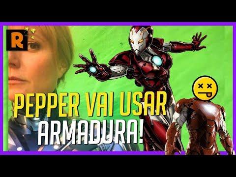 Play PEPPER VAI SALVAR O HOMEM DE FERRO EM VINGADORES 4?