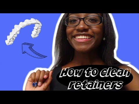 How I Put on/Take off My Retainers   How I Clean My Retainers   Tips and Hacks