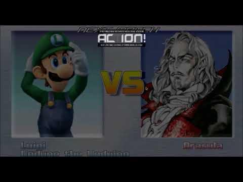 Mugen Luigi and Undyne vs Horror Bosses