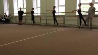 Открытый урок хореографии в художественной гимнастике часть 6