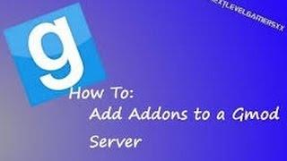 Let's Tut Nitrado || Addons zu einem Garrys Mod Server hinzufügen || Deutsch | HD