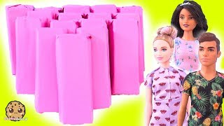 Surprise Presents ! Barbie Fashionistas Doll Haul - Cookie Swirl C Video
