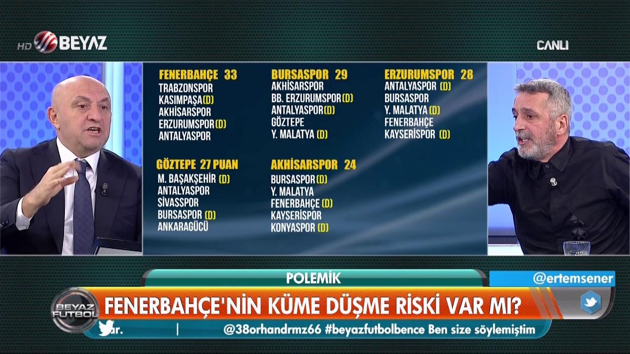 Fenerbahçe'nin küme düşme riski var mı? - YouTube
