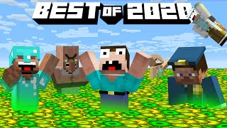 OCEAN FROM XP in MINECRAFT! BEST of 2020 in Minecraft Noob vs Pro