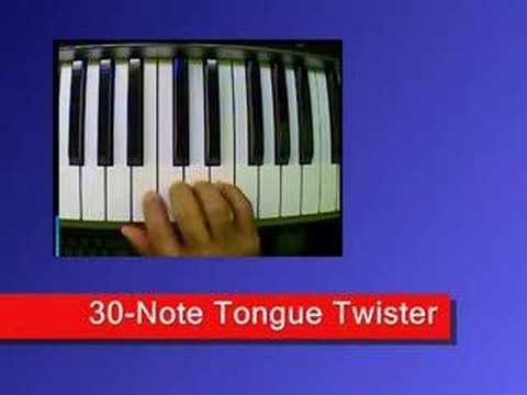 Get Piano Lesson 4 (Part Two) The Finger Tongue Twister