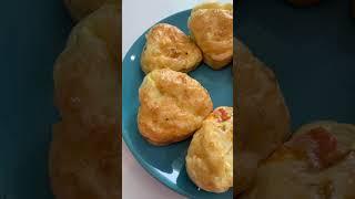 Кексики на завтрак из овощей яиц и сыра