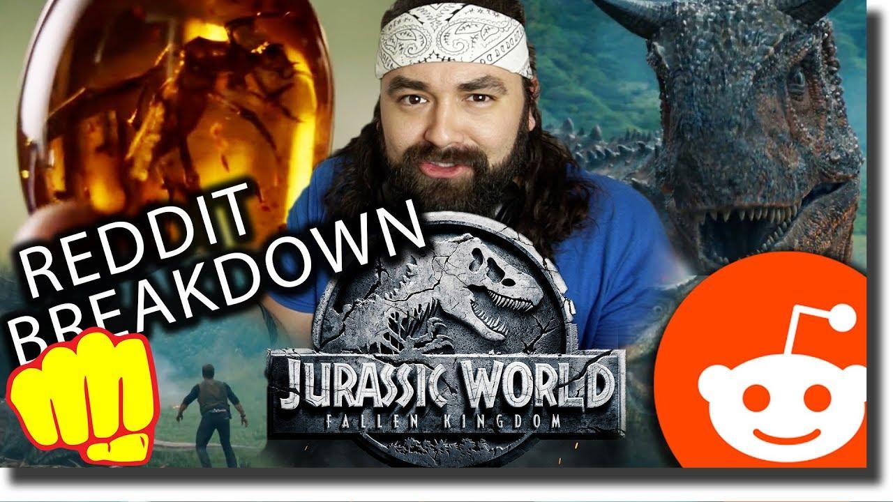 Jurassic World Fallen Kingdom REDDIT Breakdown, Theories ...