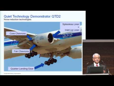 ICANA 2013: Boeing - research and development for quieter and efficient aircraft