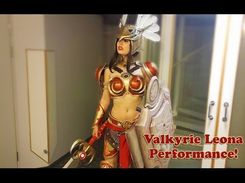 Valkyrie Leona Performance Dreamhack Summer 2015!