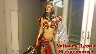 Valkyrie Leona Performance Dreamhack Summer 2015!