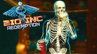 Bio Inc: Redemption - Fast Food Addiction and Heart Disease - Let's Play Bio Inc Redemption Gameplay
