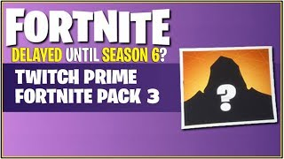 *NEW* Fortnite: TWITCH PRIME PACK #3 *Not Coming This Season.. *