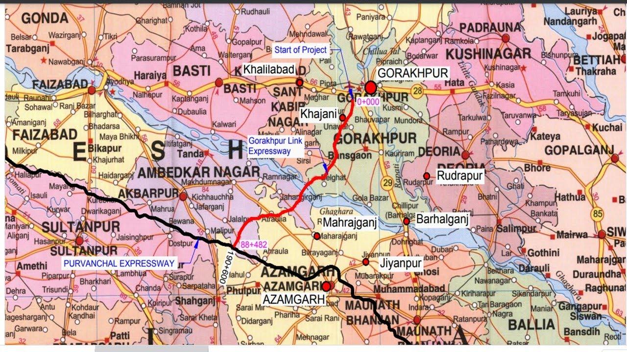 Gorakhpur Link Expressway | Gorakhpur Link Expressway complete details | Papa Construction