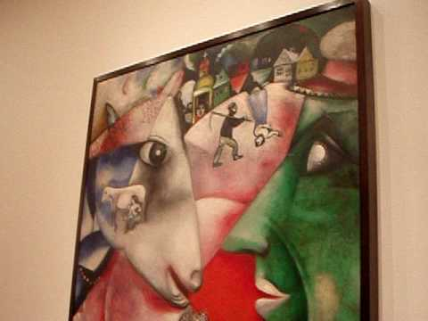 Marc Chagall - I and the Village - Museum of Modern Art - YouTube