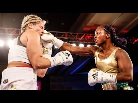 CLARESSA SHIELDS VS NIKKI ADLER WBC SUPER MIDDLEWEIGHT WORLD TITLE FULL FIGHT