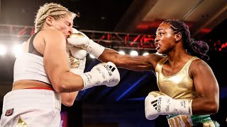 CLARESSA SHIELDS VS NIKKI ADLER WBC SUPER MIDDLEWEIGHT WORLD TITLE FULL FIGHT