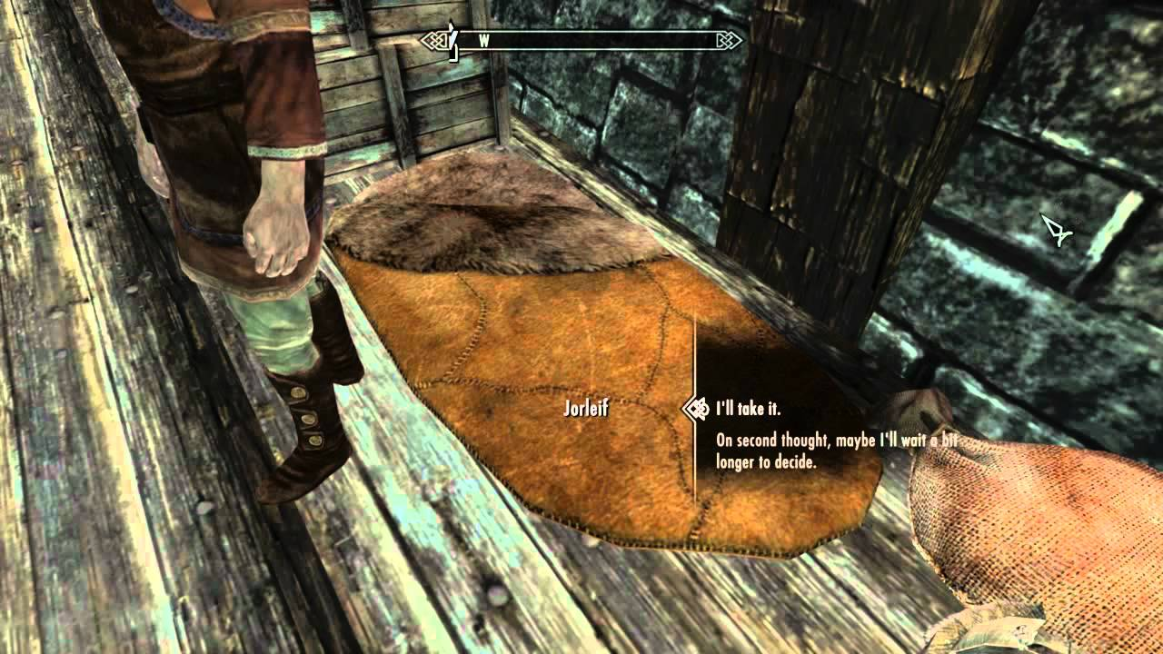 How To Get A Free House In Skyrim (glitch)