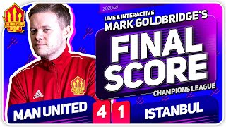 GOLDBRIDGE!! Manchester United 4-1 Istanbul Basaksehir Match Reaction