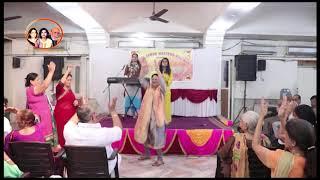 Drishika Advani Sindhi Song JANH KHE JHULAN JO at Sindhi Sabha Western Railway Annual Function.