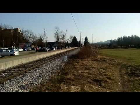 Train station Ljubljana-Ježica (13.3.2017)