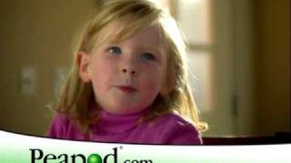 Peapod Kids spot :30 - Online grocery shopping