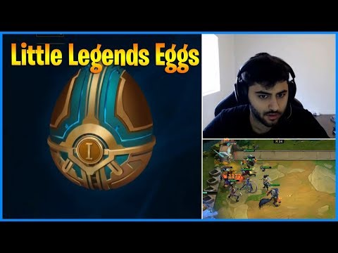 Lucky Opening Little Legends Eggs | When Yassuo plays Teamfight Tactics | LoL Daily Moments Ep 510