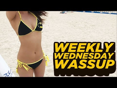 Back from vacay, Injustice 2, Laundry reacts, Other videos, YT status, etc (WEEKLY VLOG)