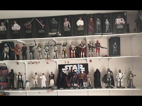 Star Wars Hot Toys/Sideshow Collectibles Collection Tour