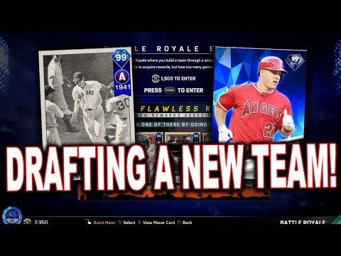 HELP ME DRAFT MY TEAM! MLB The Show 17 | Battle Royale