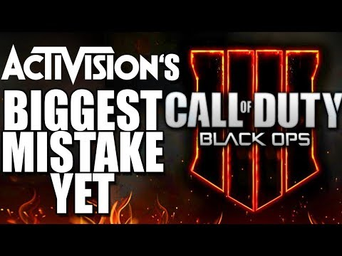 Black Ops 4's Biggest Mistake - Activision Ruined Call Of Duty BAD