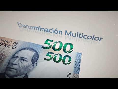 Presenta Banco de México nuevo billete de 500 pesos