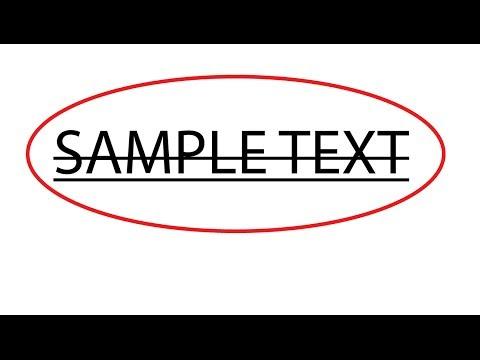 Video Tutorial : How to underline text in adobe illustrator