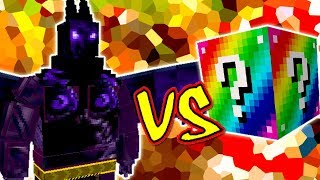 DEMONIO DA ESCURIDÃO VS  LUCKY BLOCK (MINECRAFT LUCKY BLOCK CHALLENGE DARK OPAL DEMON)