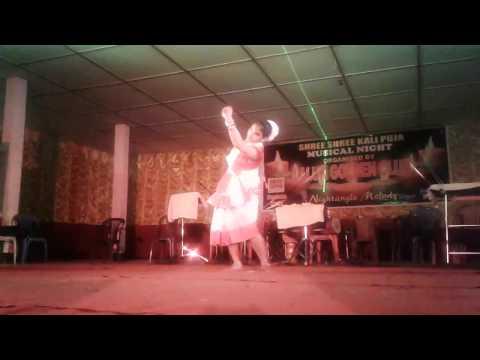 Axom Dekhor Bagisare dance performance at Kali Puja Celebration