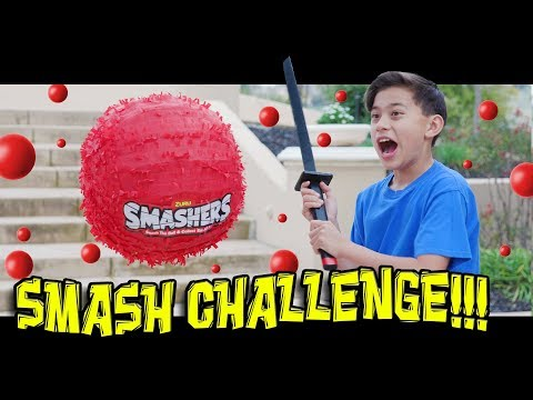 SMASH ATTACK - SMASHERS SMASH CHALLENGE!!! Gotta Smash Em All!