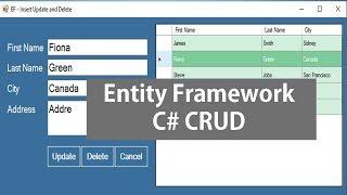 Video Entity Framework - Insert Update and Delete in C# download MP3, 3GP, MP4, WEBM, AVI, FLV Juli 2018