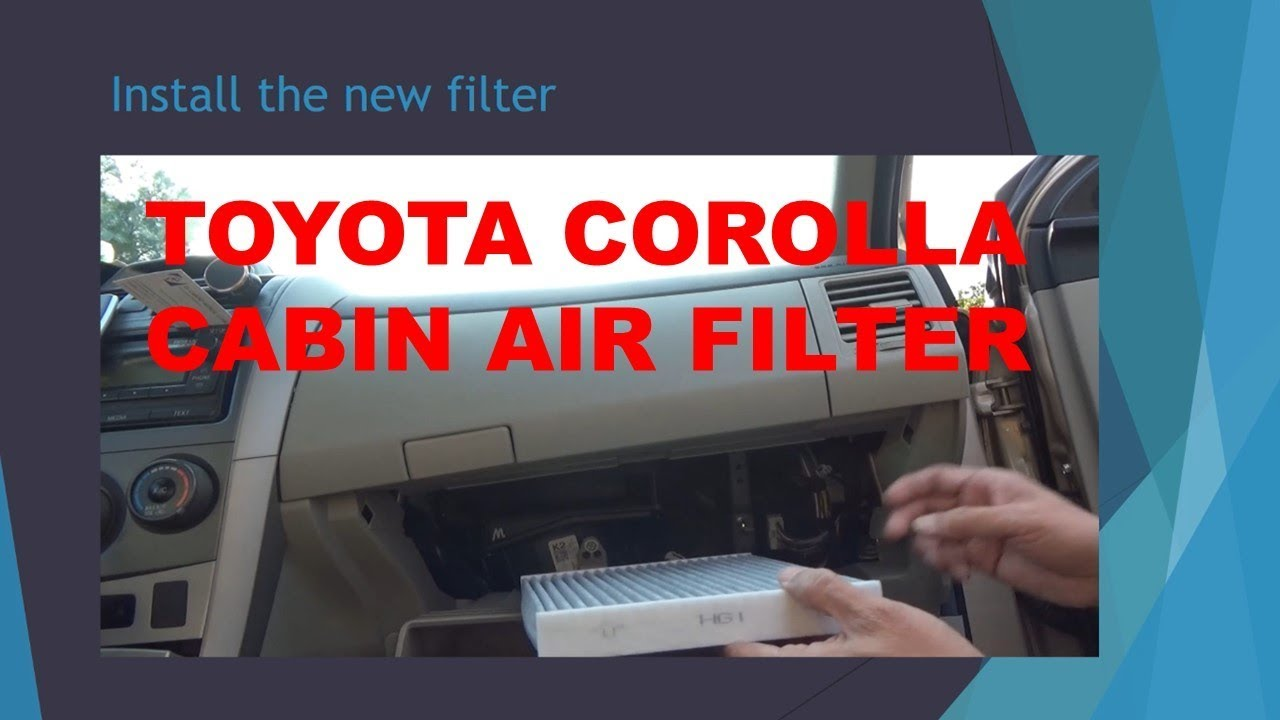 Maxresdefault on Cabin Air Filter Replacement Toyota Corolla